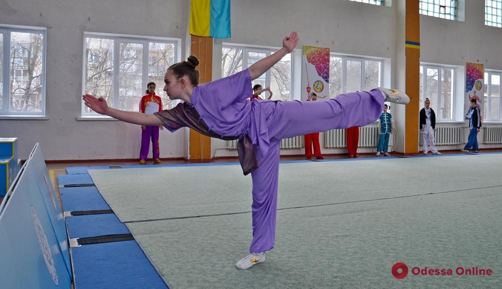 Одесса приняла Открытый чемпионат области по спортивному ушу