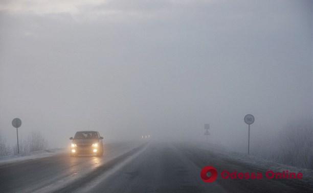 Водителей предупреждают о плохой видимости на дорогах Одессы и области