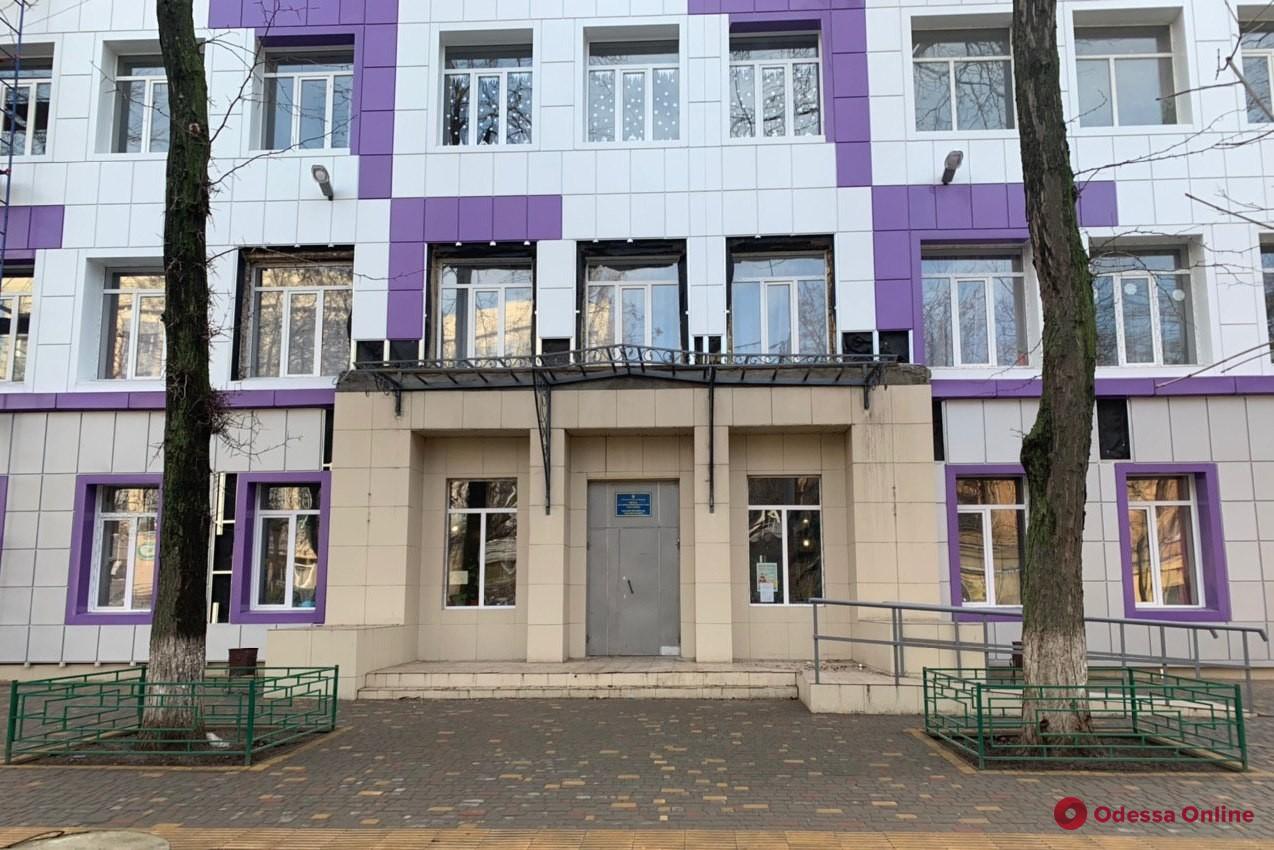 Новый двор и фасад: на Молдаванке ремонтируют школу (фото)