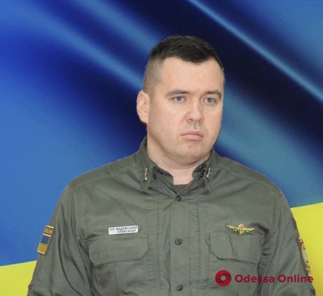 В Одесском погранотряде — новый начальник штаба