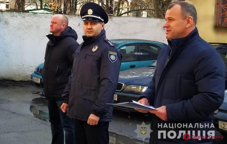 В двух территориальных отделах полиции Одесской области назначили новых руководителей