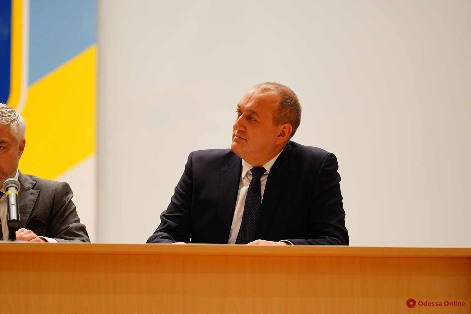 На Одесском припортовом заводе представили нового директора предприятия (фото, видео)