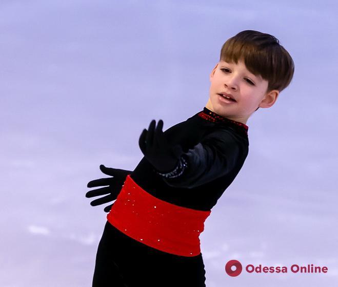 Одесские фигуристы успешно выступили во всеукраинских соревнованиях