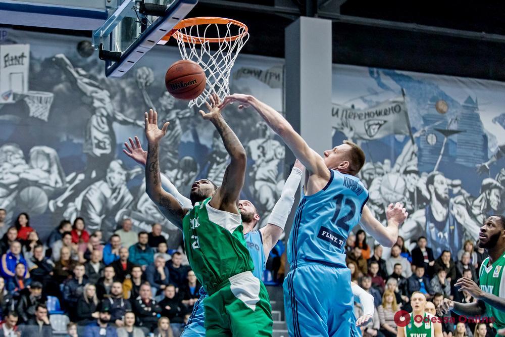 Баскетбол: «Одесса» одержал волевую победу над аутсайдером, «Химик» проиграл лидеру