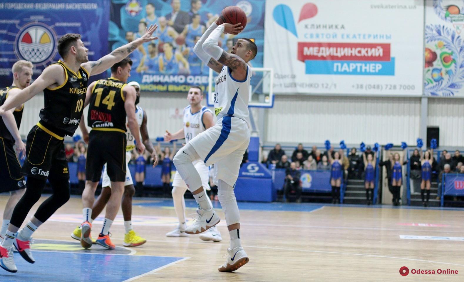 Баскетбол: один из легионеров покинул БК «Одесса»