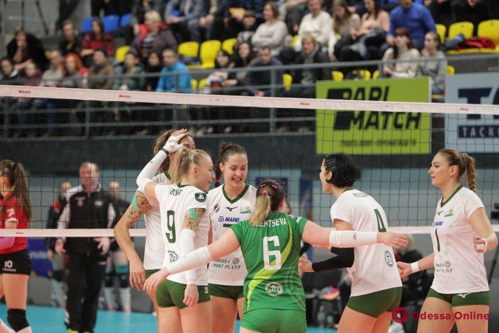 Волейбол: южненский «Химик»завоевал седьмой Кубок Украины подряд