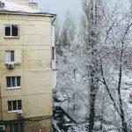 погода снег