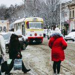 погода снег 10 трамвай
