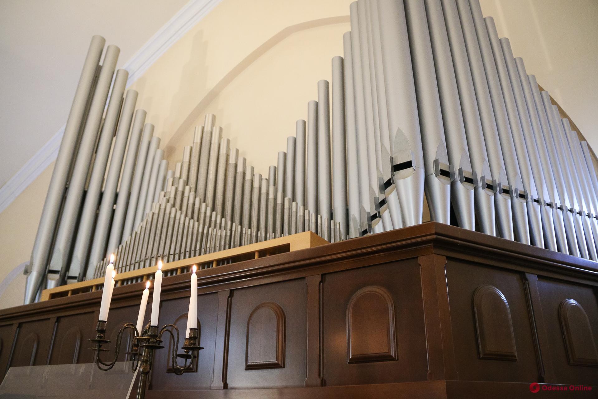Корольинструментов: где в Одессе можно насладиться органной музыкой