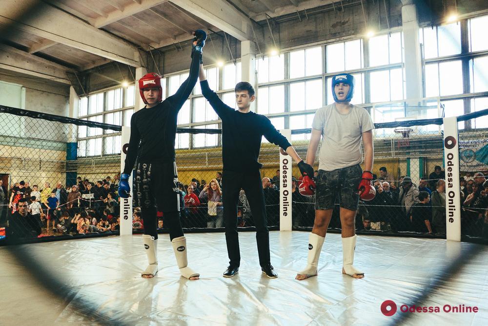 В Одессе состоялись турниры по ММА и казацкому двобою, посвященные памяти Юрия Воронина