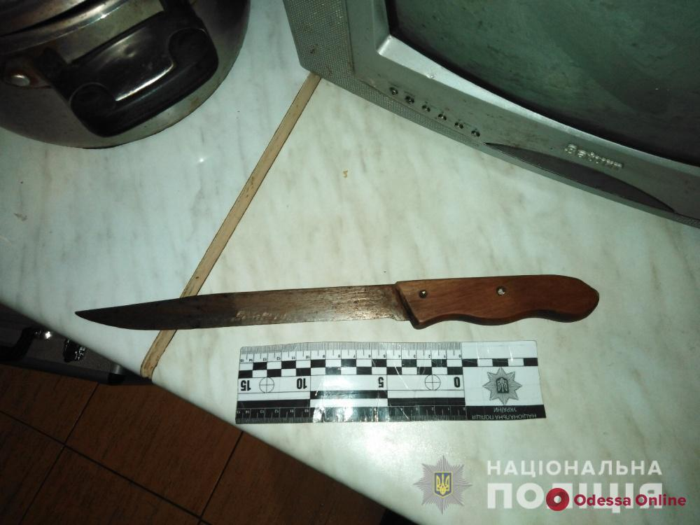 В Одесской области пенсионер ударил внука ножом в живот