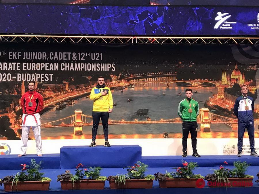 Одесские каратисты завоевали две медали чемпионата Европы
