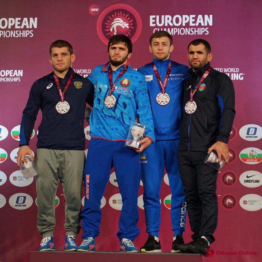 Борец из Тарутино завоевал медаль чемпионата Европы