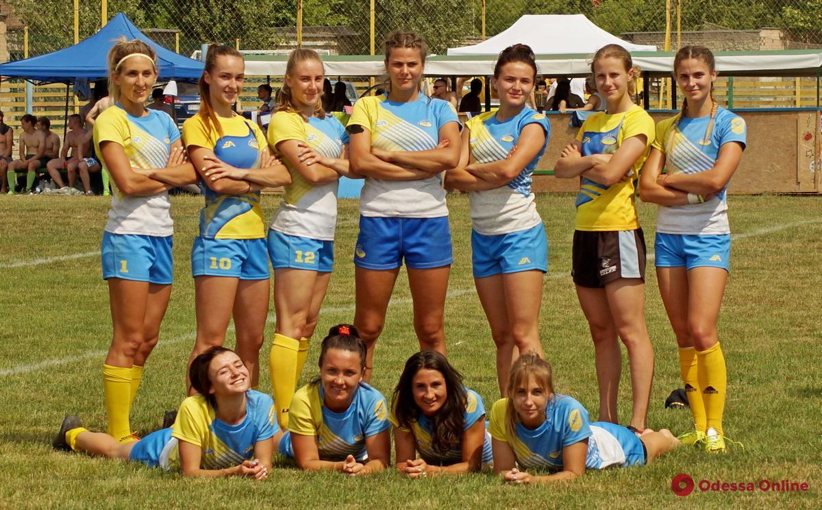 Четыре одесские регбистки пройдут в Турции сборы с национальной сборной Украины