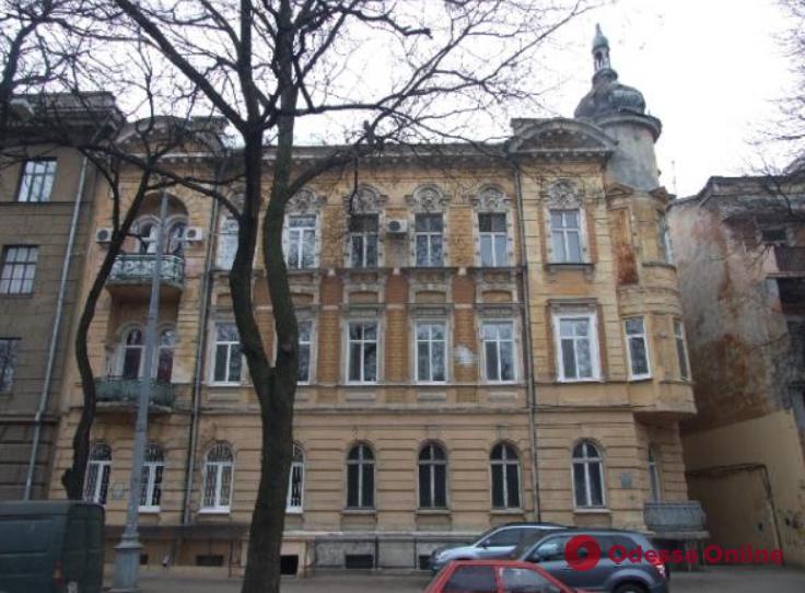 В доме-памятнике архитектуры на Маразлиевской проведены противоаварийные работы
