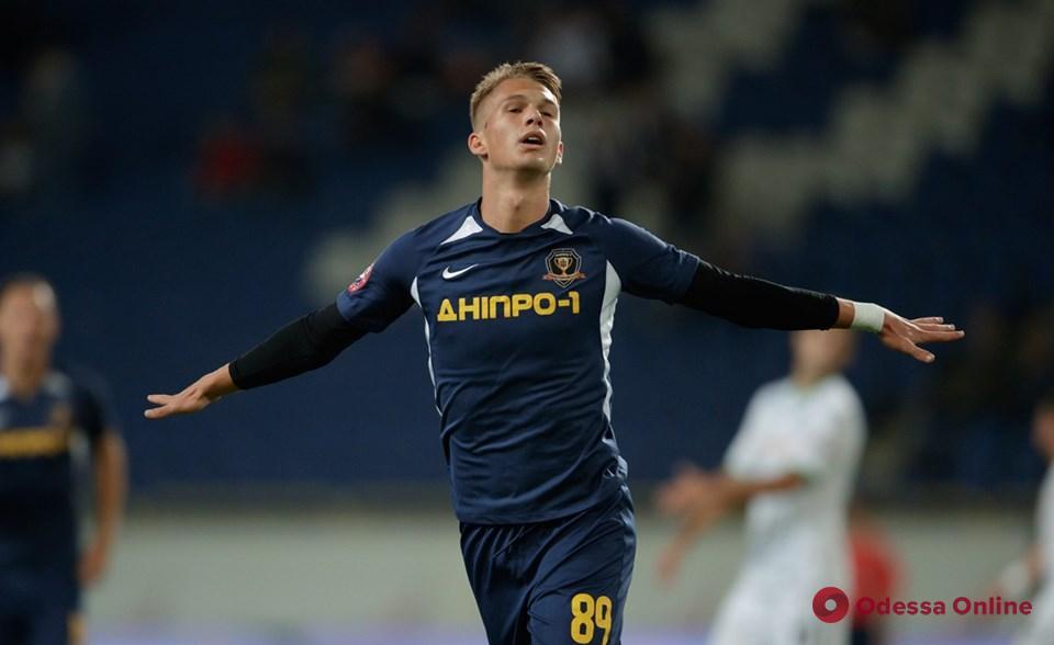 Футболист из Одесской области забил девять мячей в последних десяти матчах Премьер-лиги
