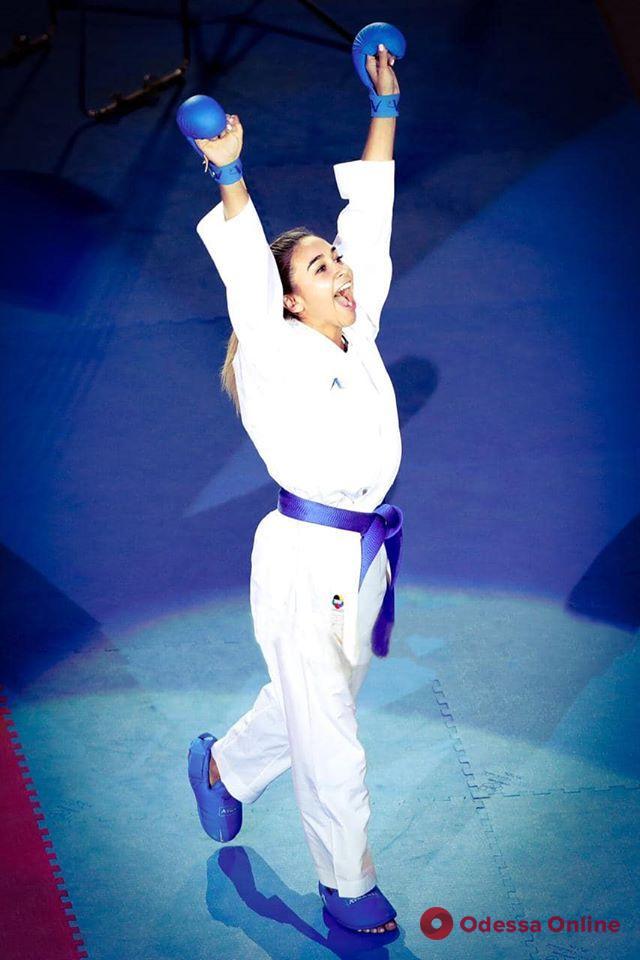 Каратэ: очаровательная одесситка досрочно завоевала олимпийскую лицензию
