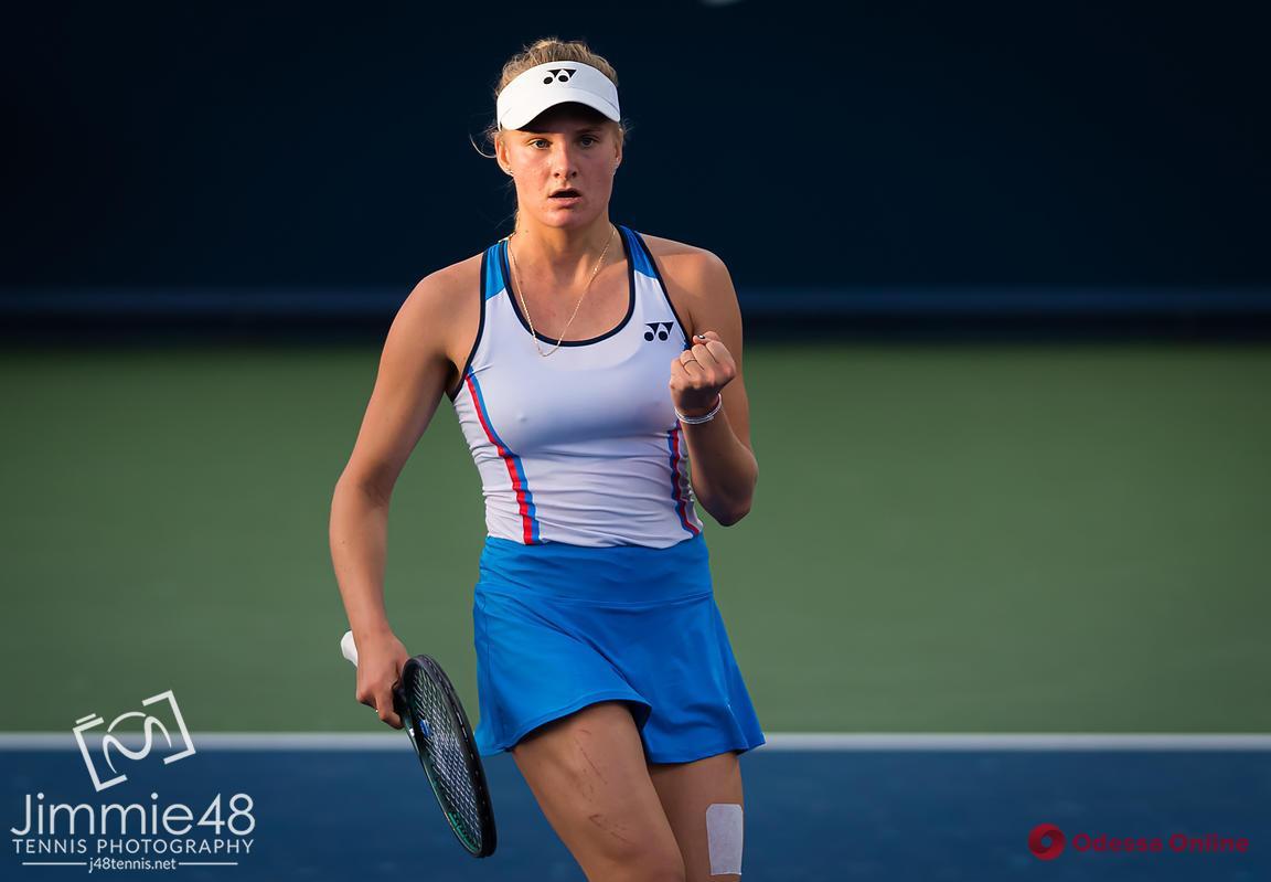 US Open: одесская теннисистка пробилась во второй раунд в парном разряде