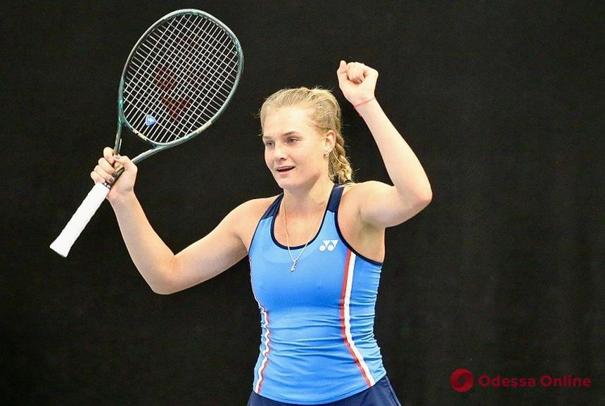 Одесские теннисистки по-разному сыграли в составе сборной Украины