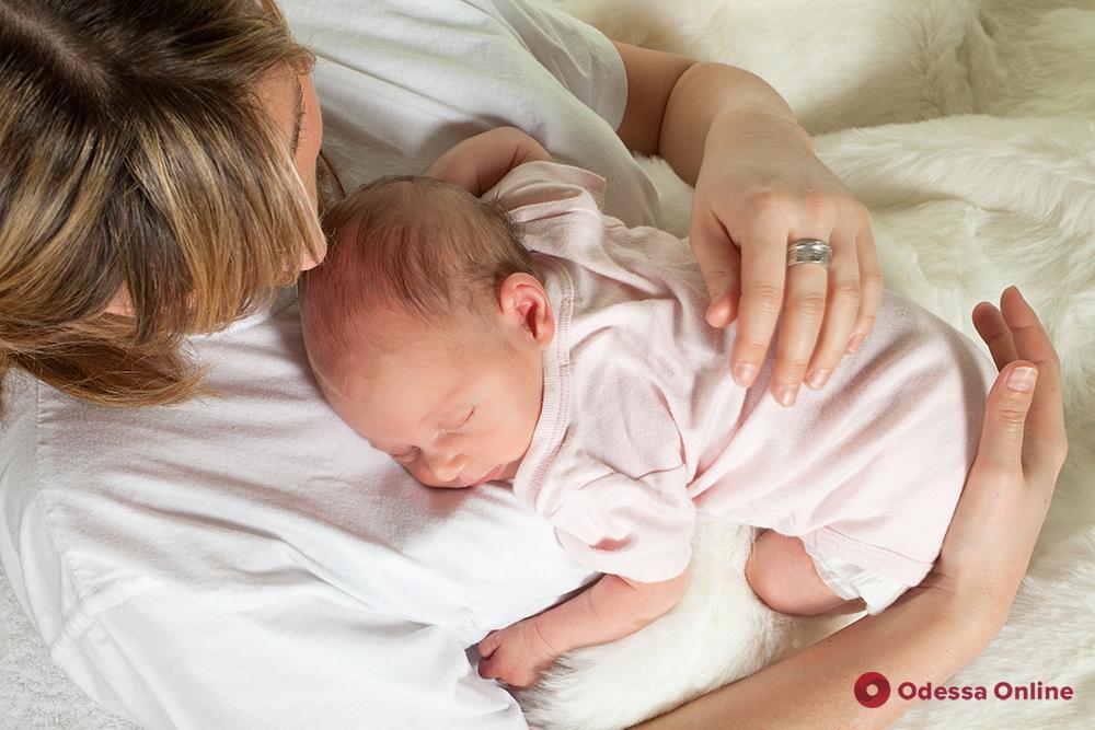 На минувшей неделе в Одессе родились 185 малышей