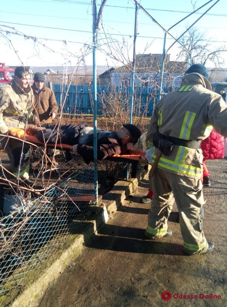 Жителя Одесской области зажало кузовом грузовика