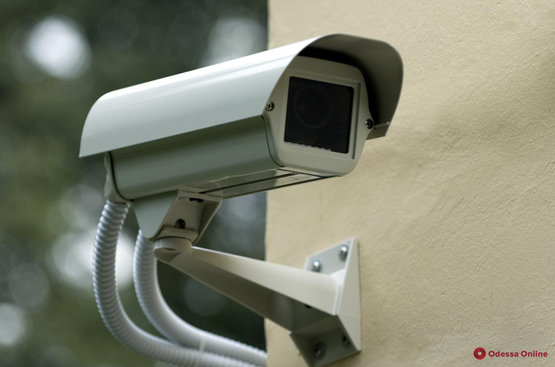 Камеры видеонаблюдения помогают снизить уровень преступности на улицах Одессы
