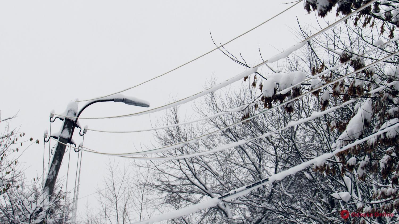 Электричество в обесточенных районах Одесской области планируют восстановить завтра