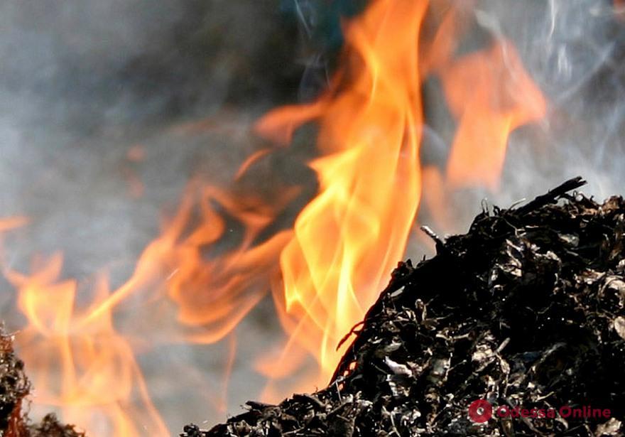 Одесские спасатели тушили пожар на Дюковской