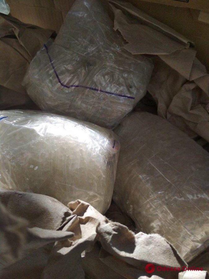 В рейсовом автобусе Одесса-Кишинев нашли наркотики