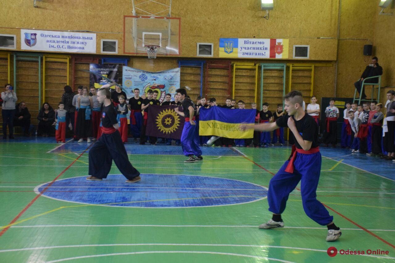 В Одессе состоялся открытый чемпионат области по боевому гопаку (фото, видео)