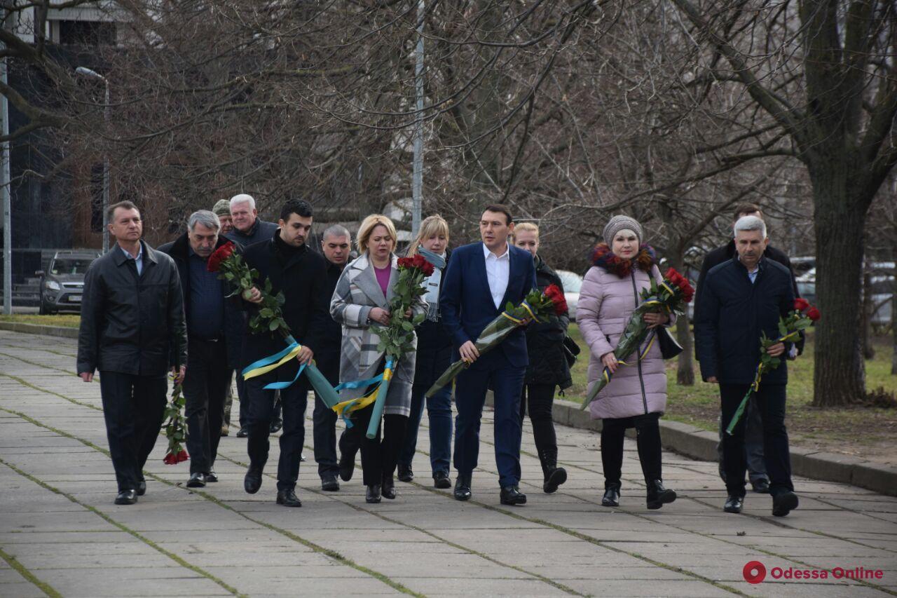 В Одессу с рабочим визитом приехала министр по делам ветеранов (фото)