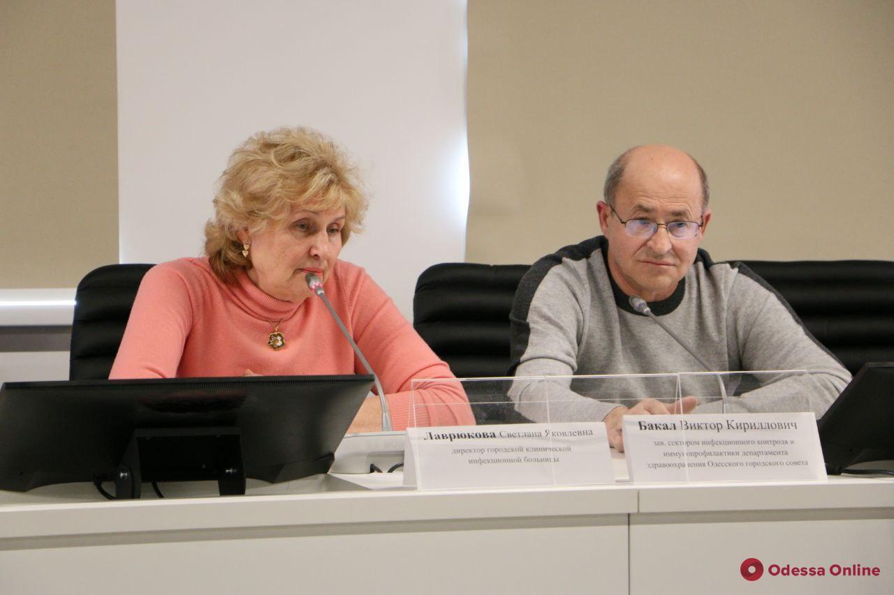 В Одессе закупят тест-системы для диагностики коронавируса