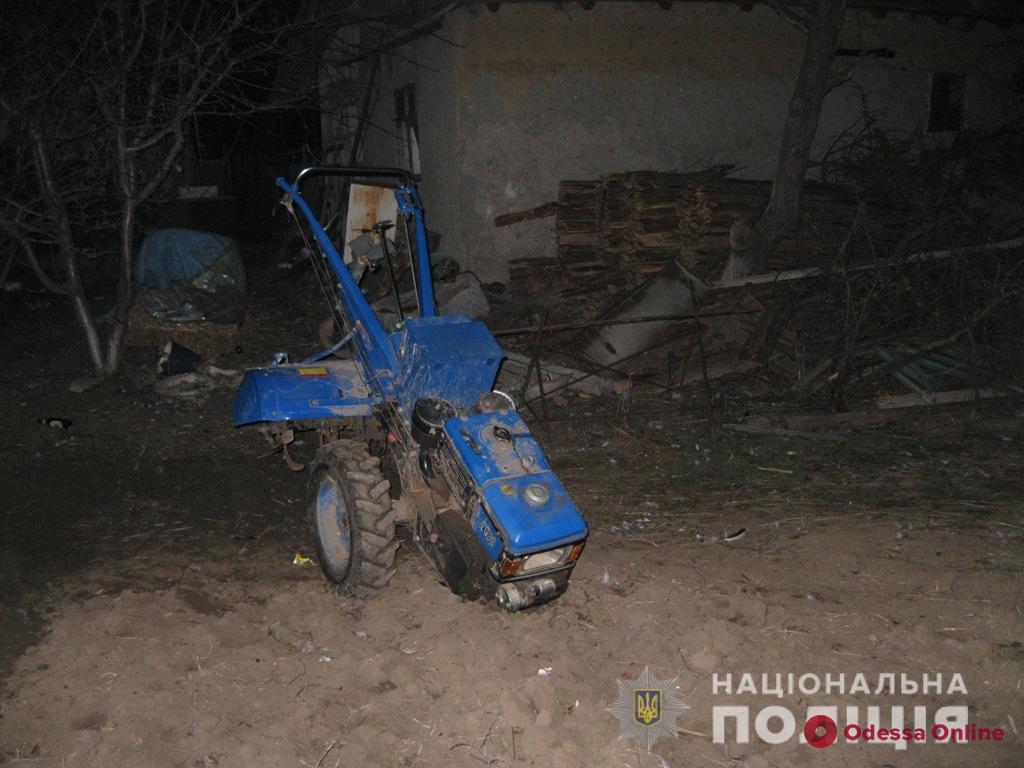 В Одесской области 5-летний мальчик попал под мотоблок