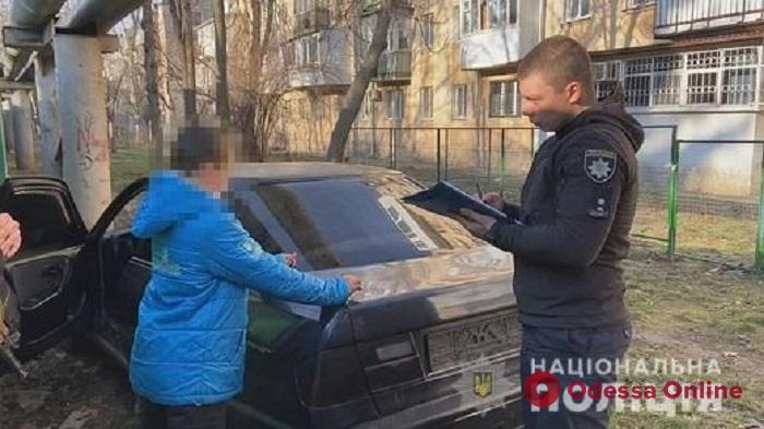 Захотел покататься: в Одессе 12-летний мальчик угнал Nissan