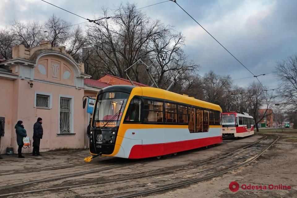 Трамваи и троллейбусы в Одессе будут перевозить не более 10 пассажиров