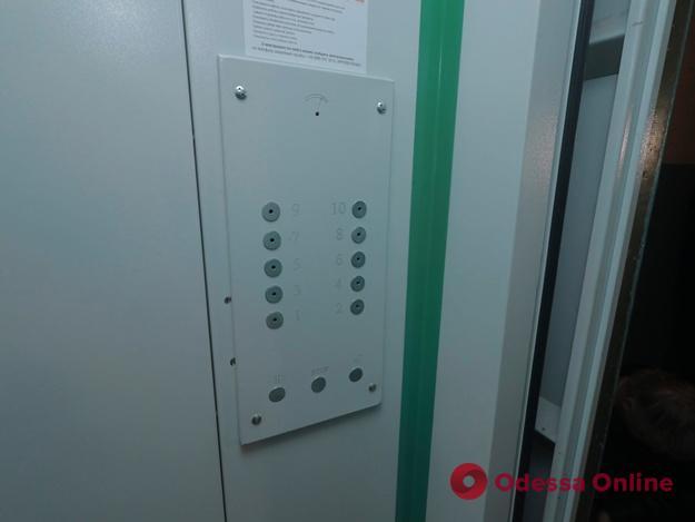 В Одессе за год отремонтировали свыше 400 лифтов
