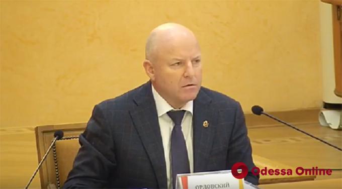 На сессии Одесского горсовета уволили первого вице-мэра Орловского