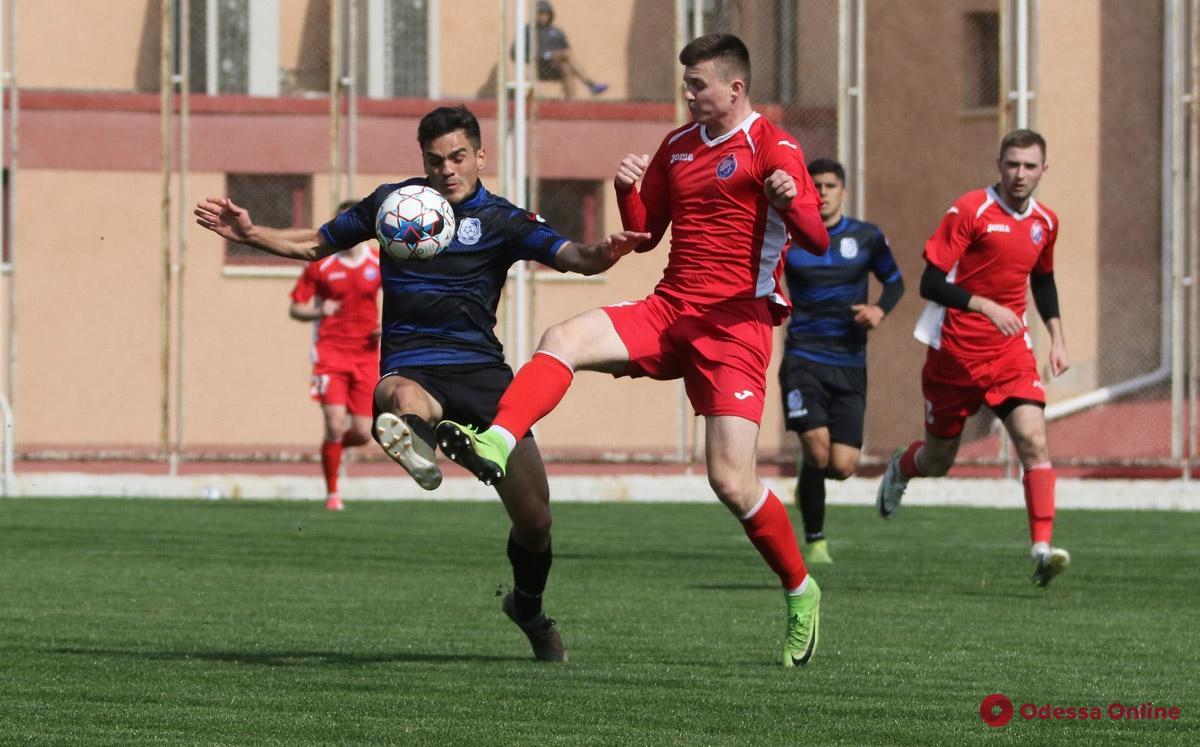 Футбол: «Черноморец» уверенно победил в одесском дерби (видео)