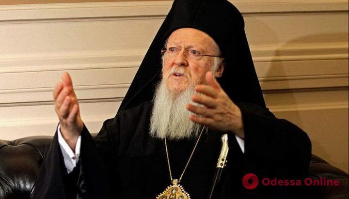 Вселенский патриарх отменил службы в церквях до конца марта