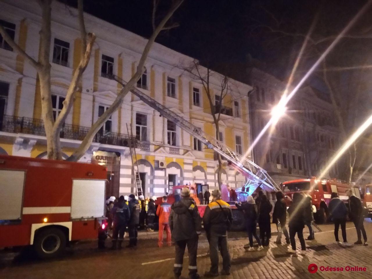 Пожар в доме Переца нанес ущерб на 265 тысяч