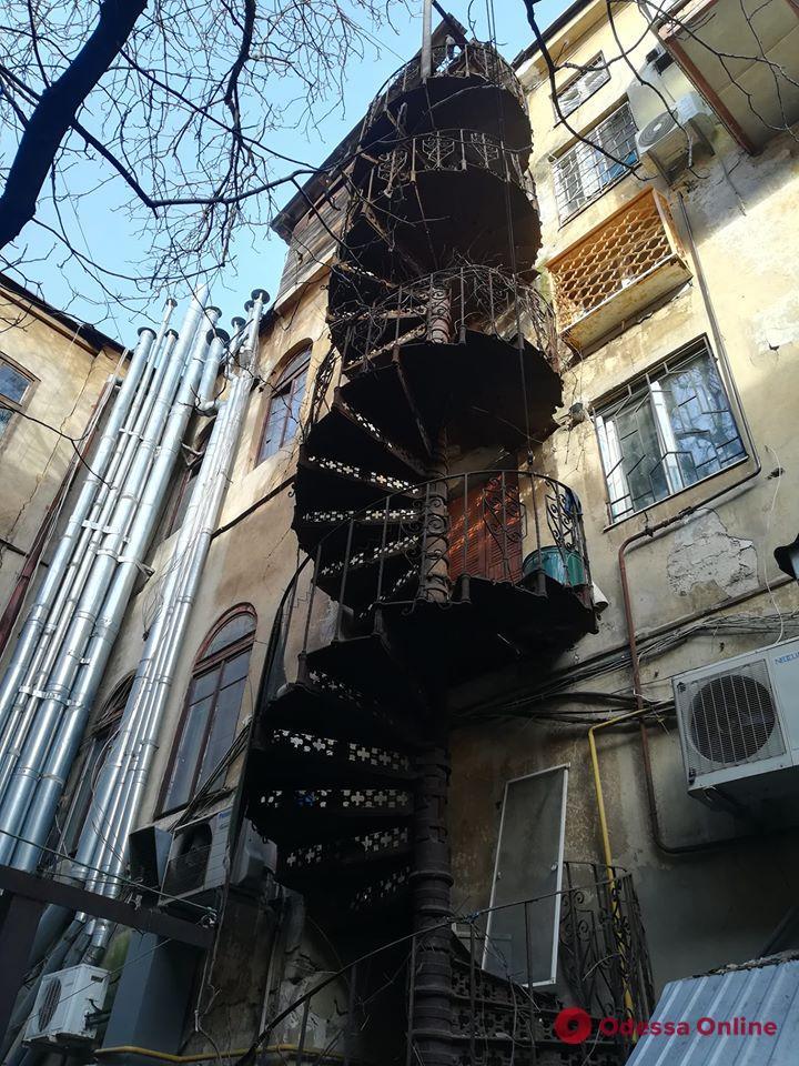Появилось фото одесской чудо-лестницы