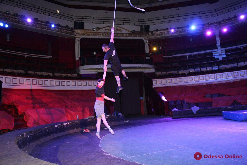 Полет под куполом: экстремальная жизнь воздушной гимнастки