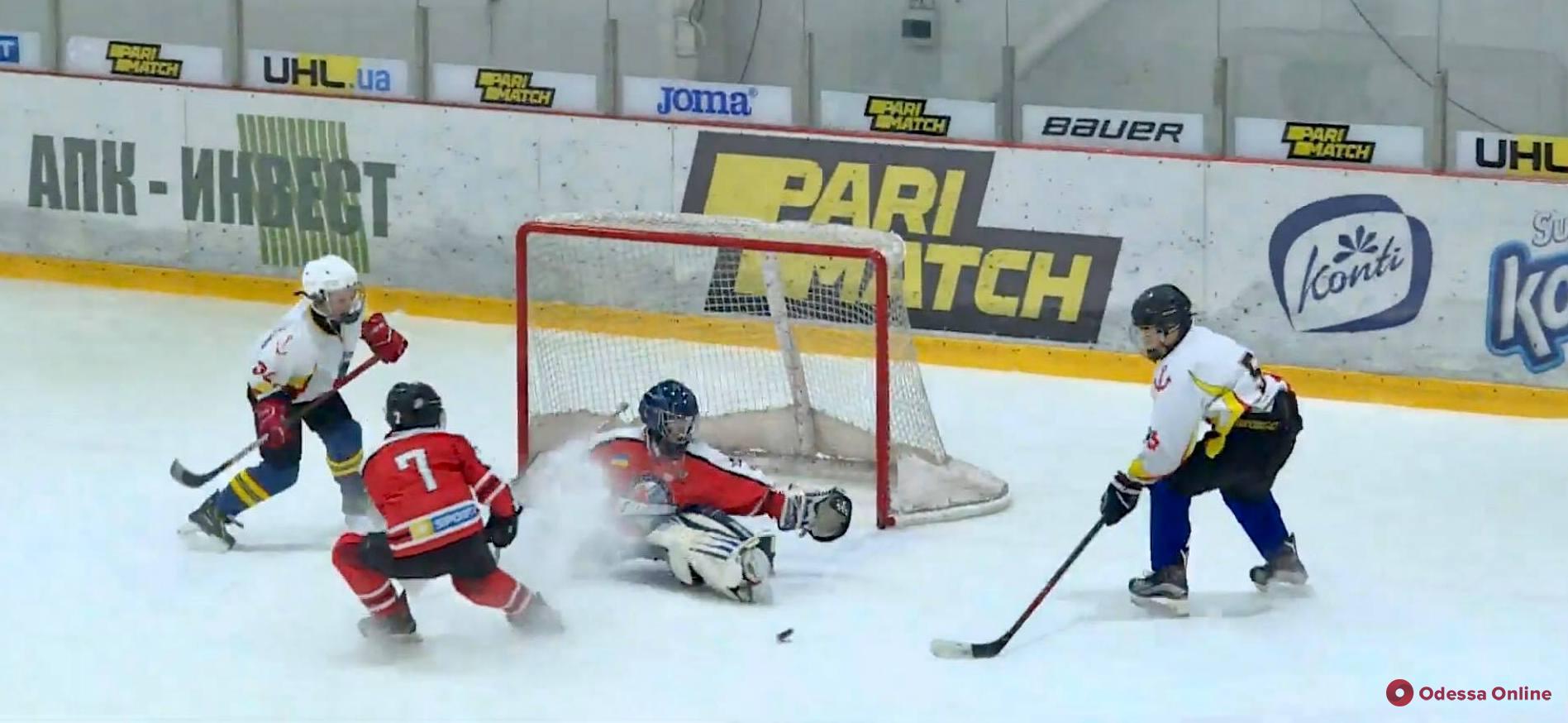 Хоккей: одесские «Морские волки» обменялись победами с «Донбассом»