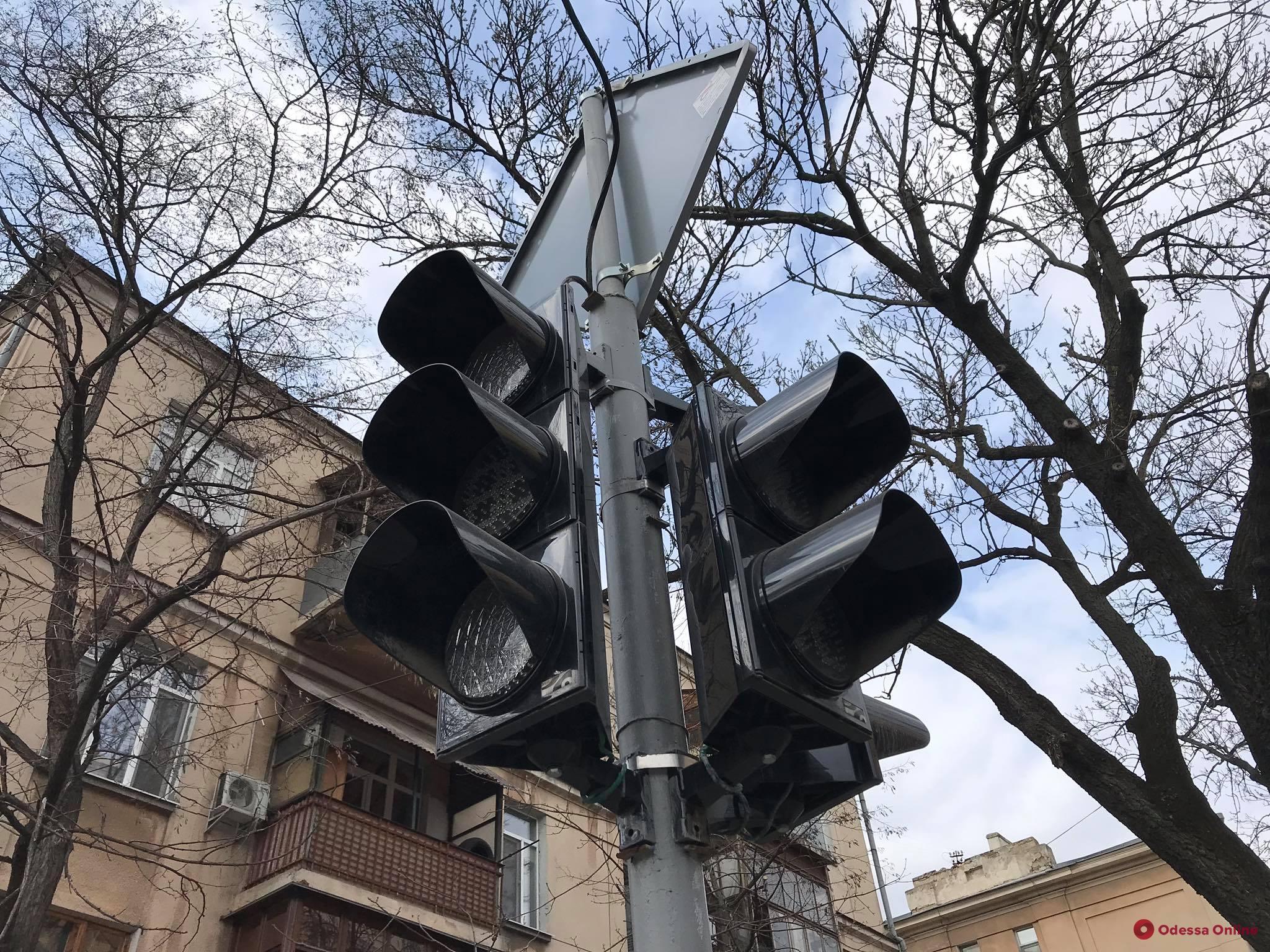 В Одессе до вечера не будут работать светофоры на трех важных перекрестках