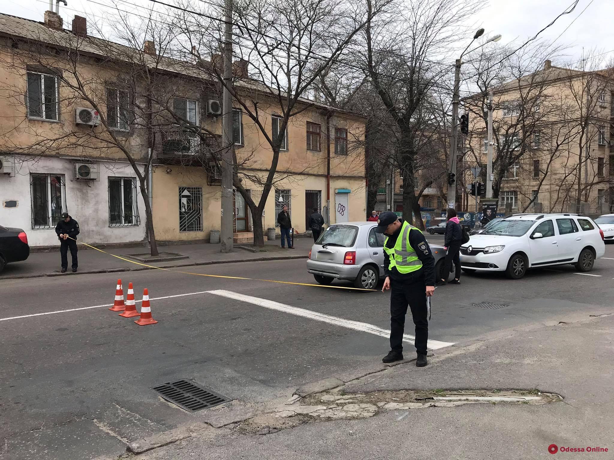 На Новосельского не разминулись два авто