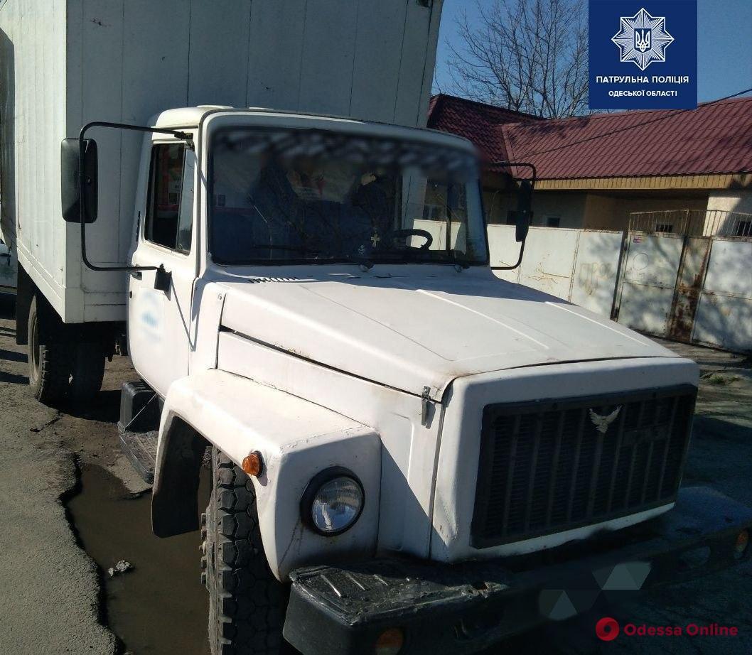 Пьяный житель Одесской области угнал грузовик