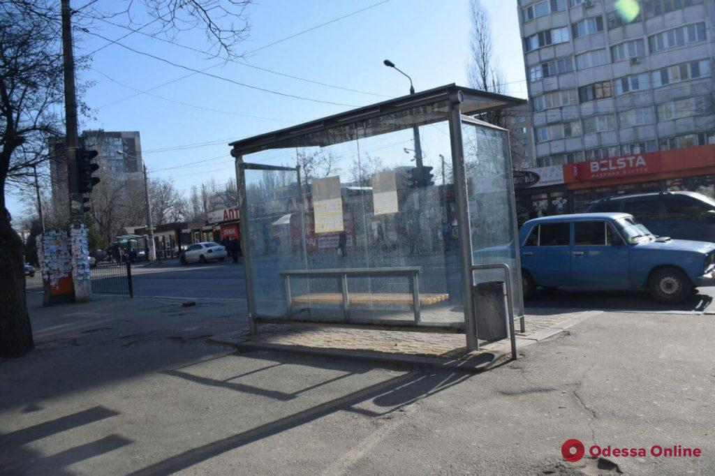 Одесса. Транспорт в режиме ЧС. День третий (фото)