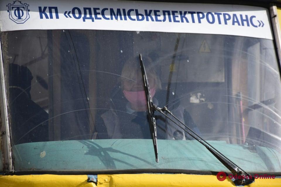 Одесса. Транспорт в режиме ЧС. День четвертый (фото)