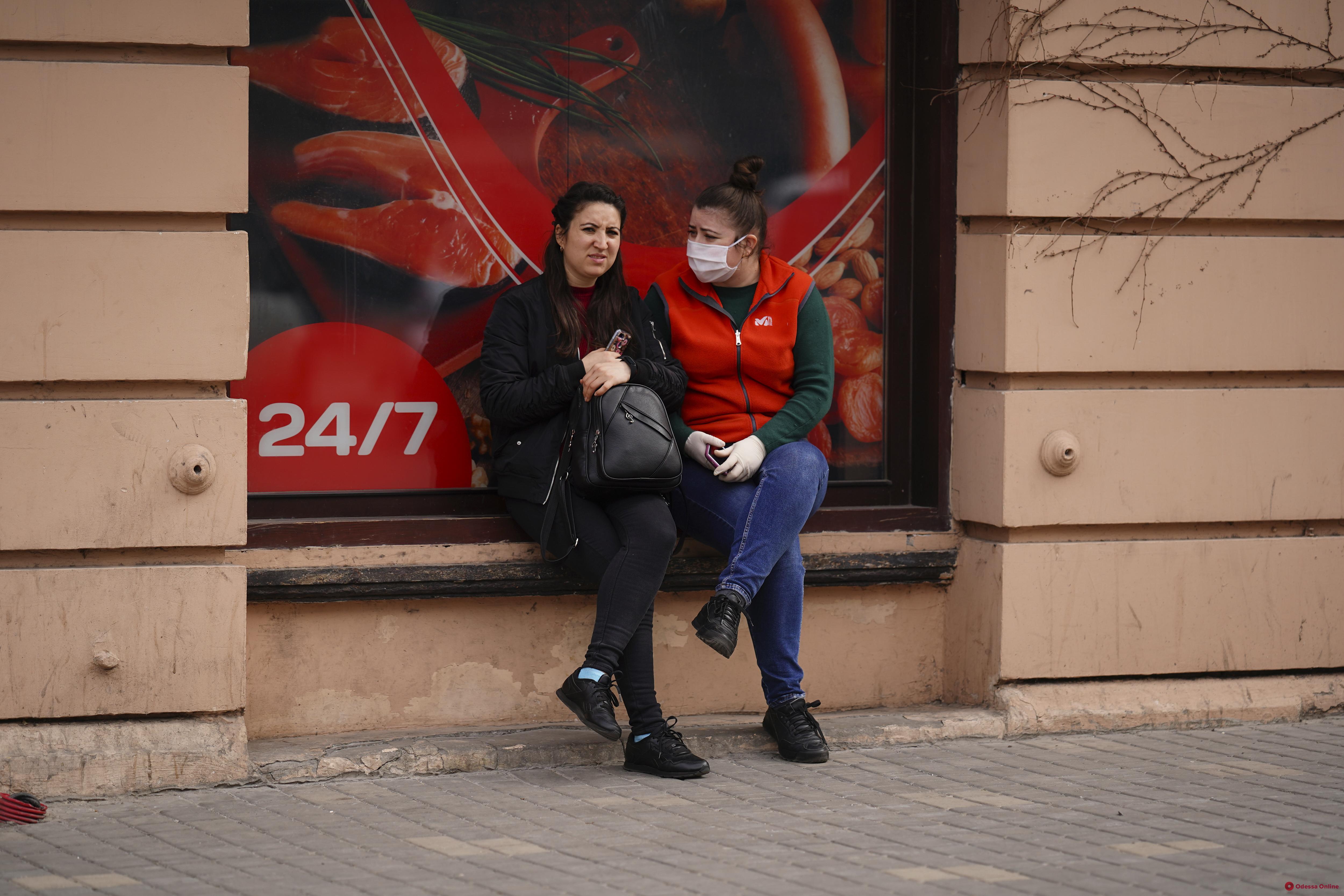 Одесса. Карантин. День пятый (фоторепортаж)