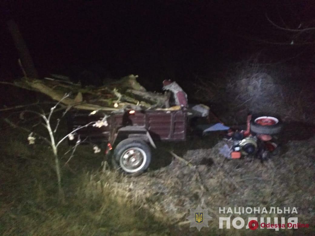 Житель Одесской области погиб под мотоблоком